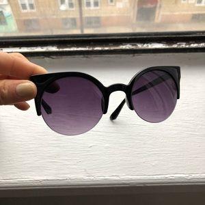 Nasty Gal Kiss Cat eye sunglasses